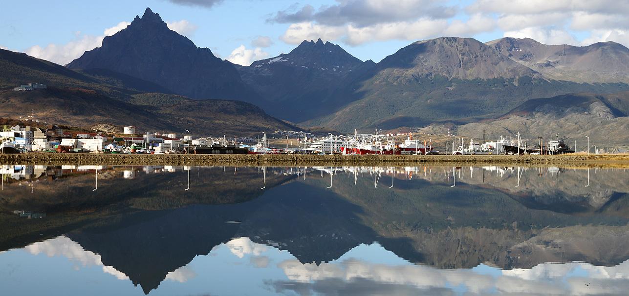 Ushuaia paisaje